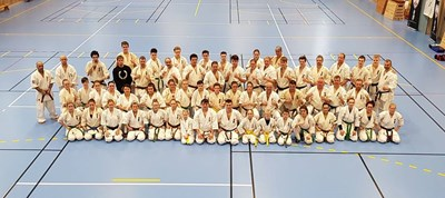 Gruppbild Gefle winter camp 2018
