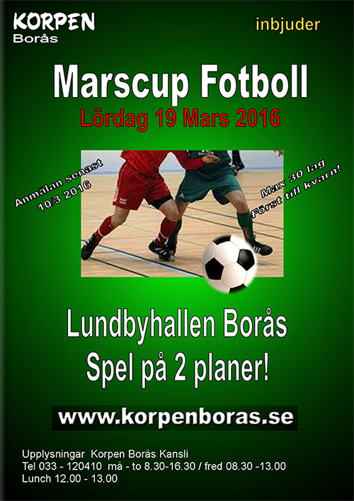 Marscupen - Five-A-Side